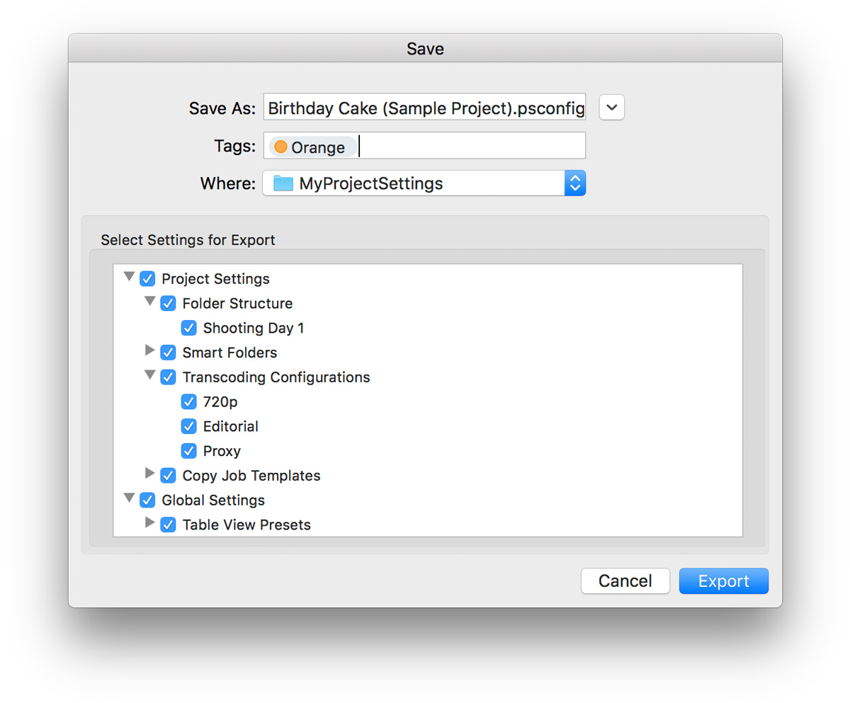 Easily Start New Projects with Your Custom Settings