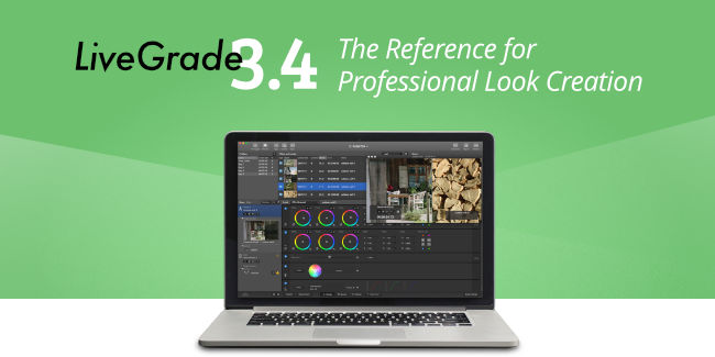 Here It Is: The Brand New LiveGrade v3.4