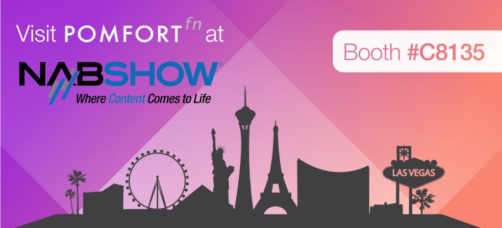 Pomfort@NAB 2016: See Our New Product