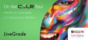 Hands on LiveGrade: On Set COLR Tour 2016