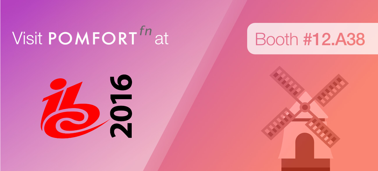 Pomfort at IBC 2016
