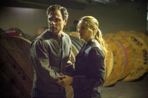 TONY GOLDWYN and SHAILENE WOODLEY star in DIVERGENT