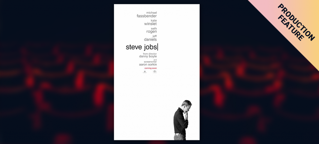 """Being DIT on the """"Steve Jobs"""" movie: How to Manage Huge Quantity of Data"""