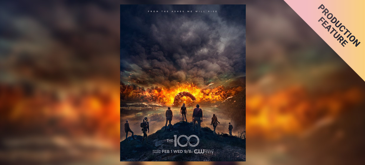 """On Set Data Management and Looks: DIT Noah Richoz On Keeping the Balance for """"The 100"""""""