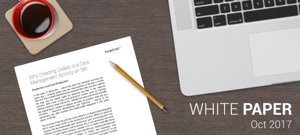 White Paper: Why Creating Dailies Is a Data Management Activity on Set