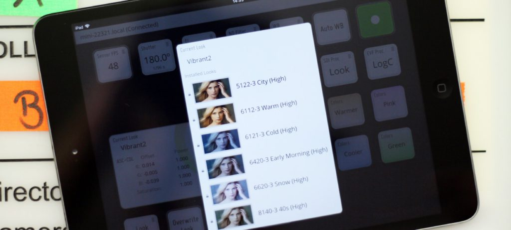 Pocket Control: Apply and Refine Looks from the ARRI Look Library