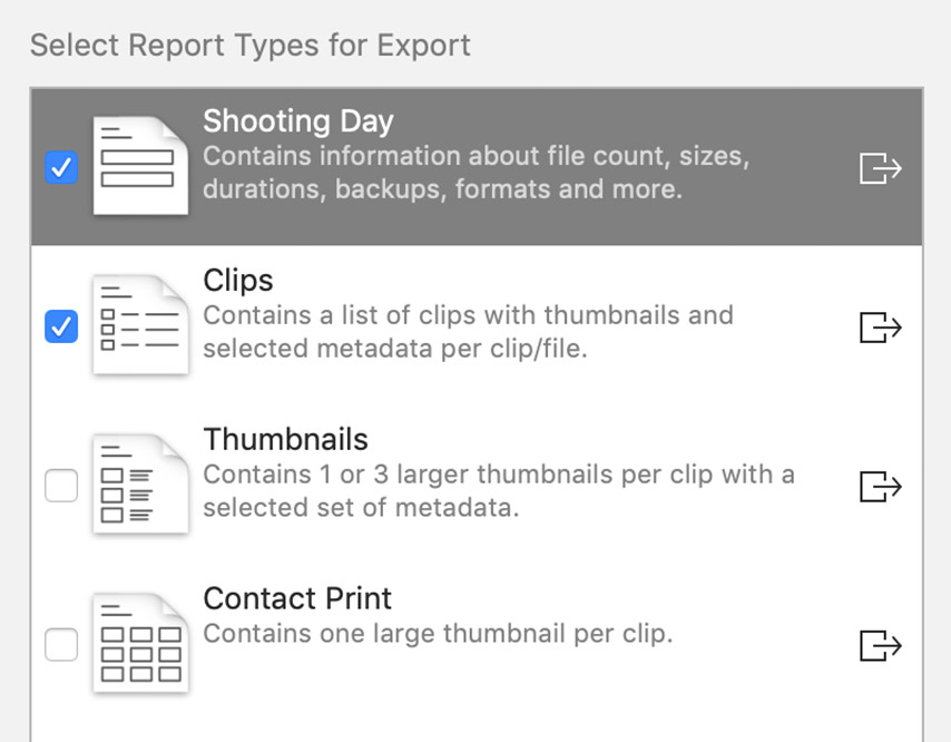 Export Multiple Report Types with One Click