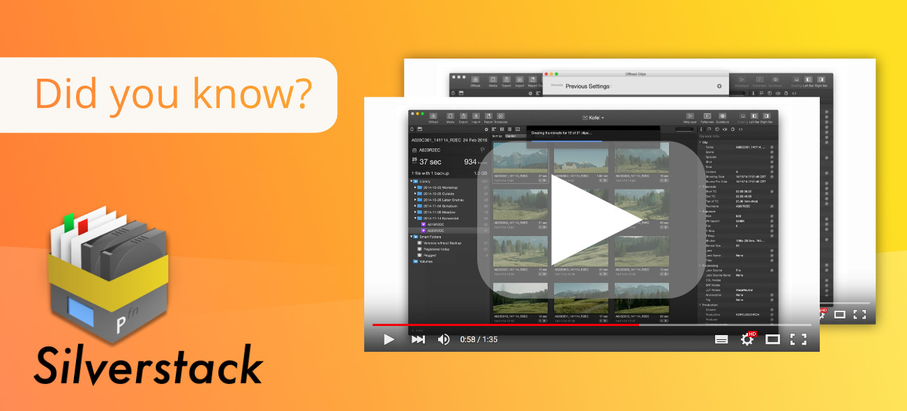 New to Silverstack? Our Video Tutorials Help!
