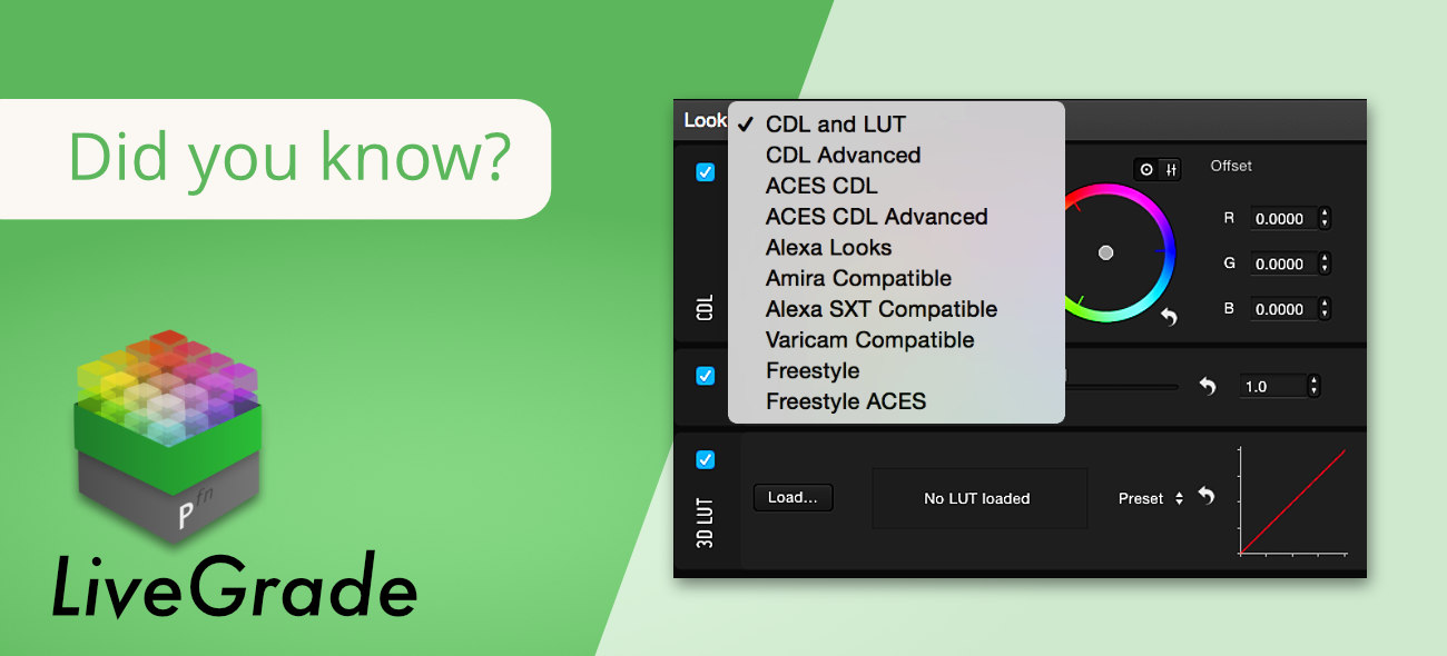 LiveGrade: Nodes and Grading Modes Explained in Detail