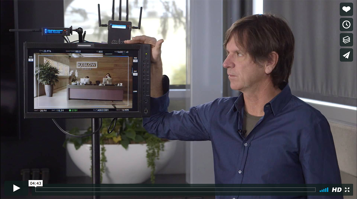 DP Paul Cameron Talks About the Value of Looks on Set