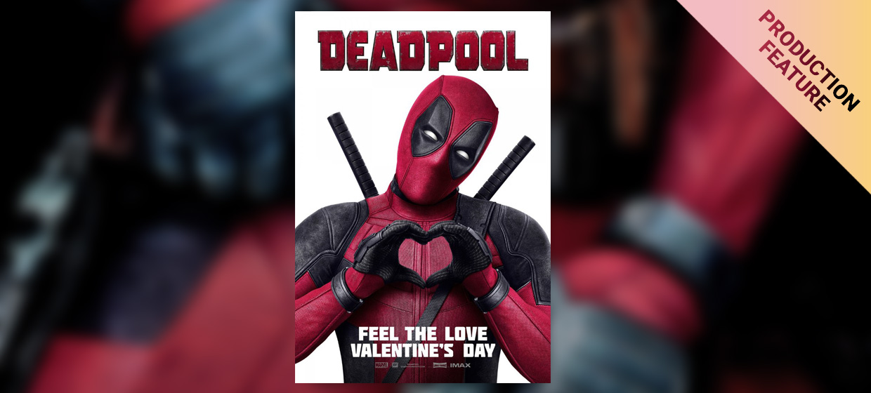 """Smooth Workflows for """"Deadpool"""" – Part 1: Main Unit DIT Mitch Bax"""