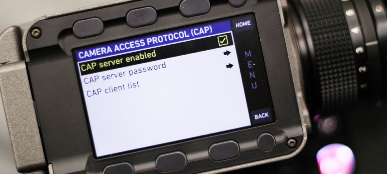 Getting Started with PocketControl: Connect to the Camera