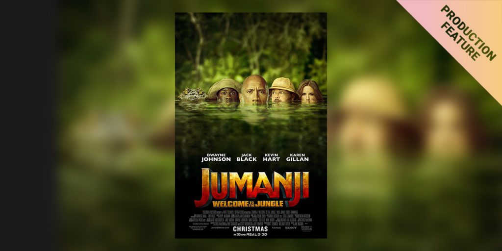 Lonny Danler about on set grading in the jungle for Jumanji