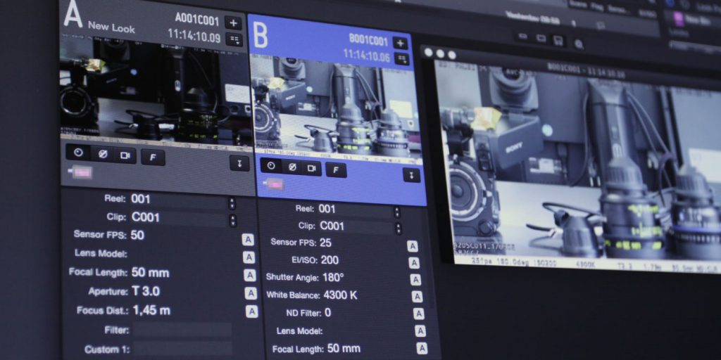 The Extended DIT workflow: Managing live camera metadata in LiveGrade Pro