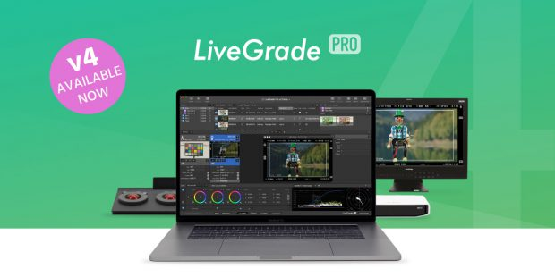 Pomfort Releases the Brand New LiveGrade Pro v4