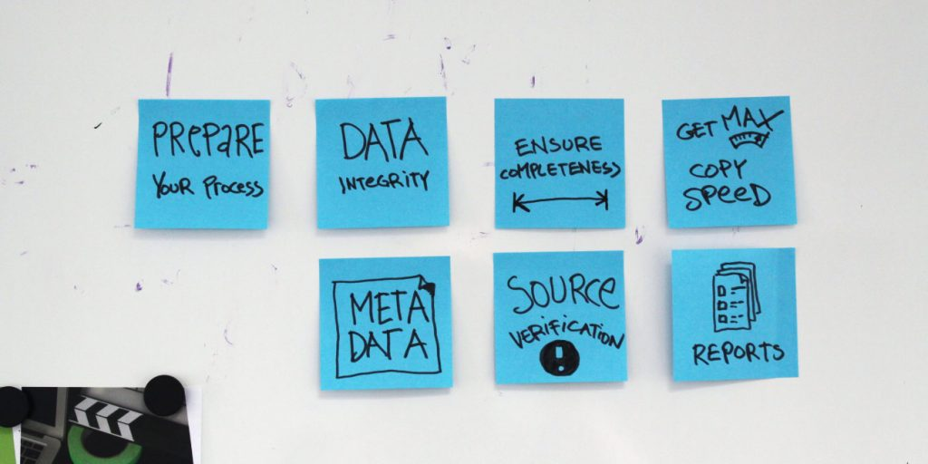 7 Tips for Data Wrangling on a Film Set