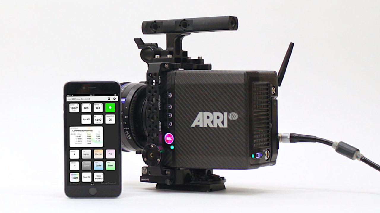 Pomfort PocketControl Remote App for ARRI ALEXA Mini and AMIRA Logo