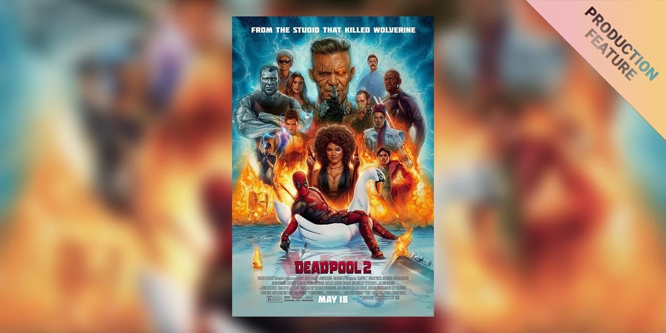 On-Set Color for Deadpool 2 (Part 1): Main Unit DIT Simon Jori On the Importance of Live Grading