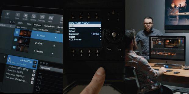 Video: Panavision DXL2 grading with LiveGrade Pro
