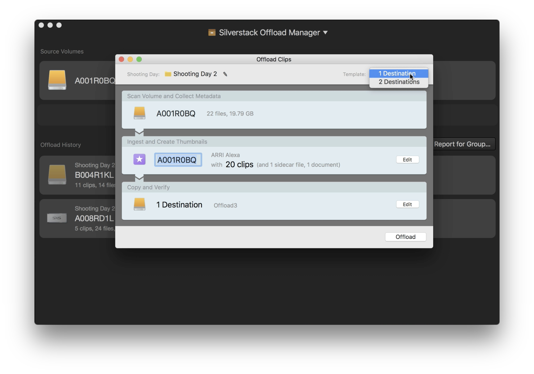 Offloading Camera Footage: How to Benefit From Working with the Silverstack Offload Manager