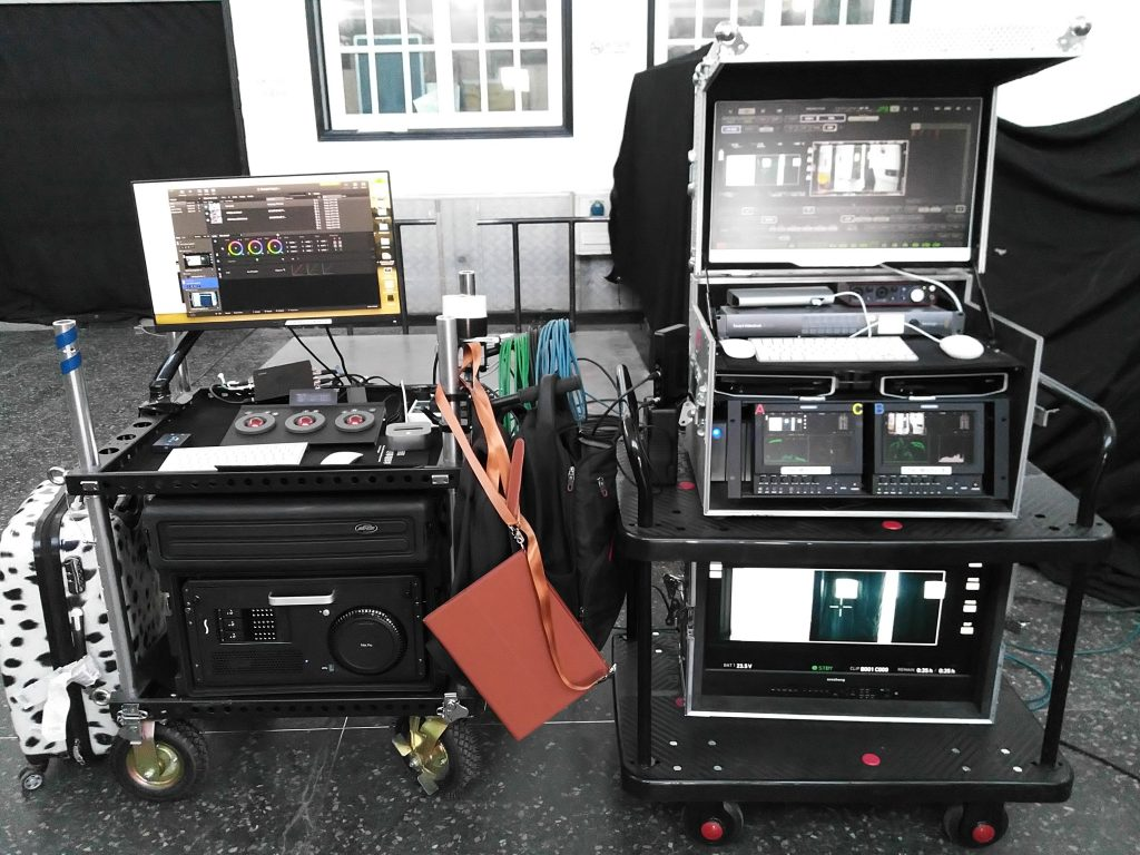 "On-Set Data Management and Color: DIT Supervisor Steve Liu on the Production of ""Hidden Man"""