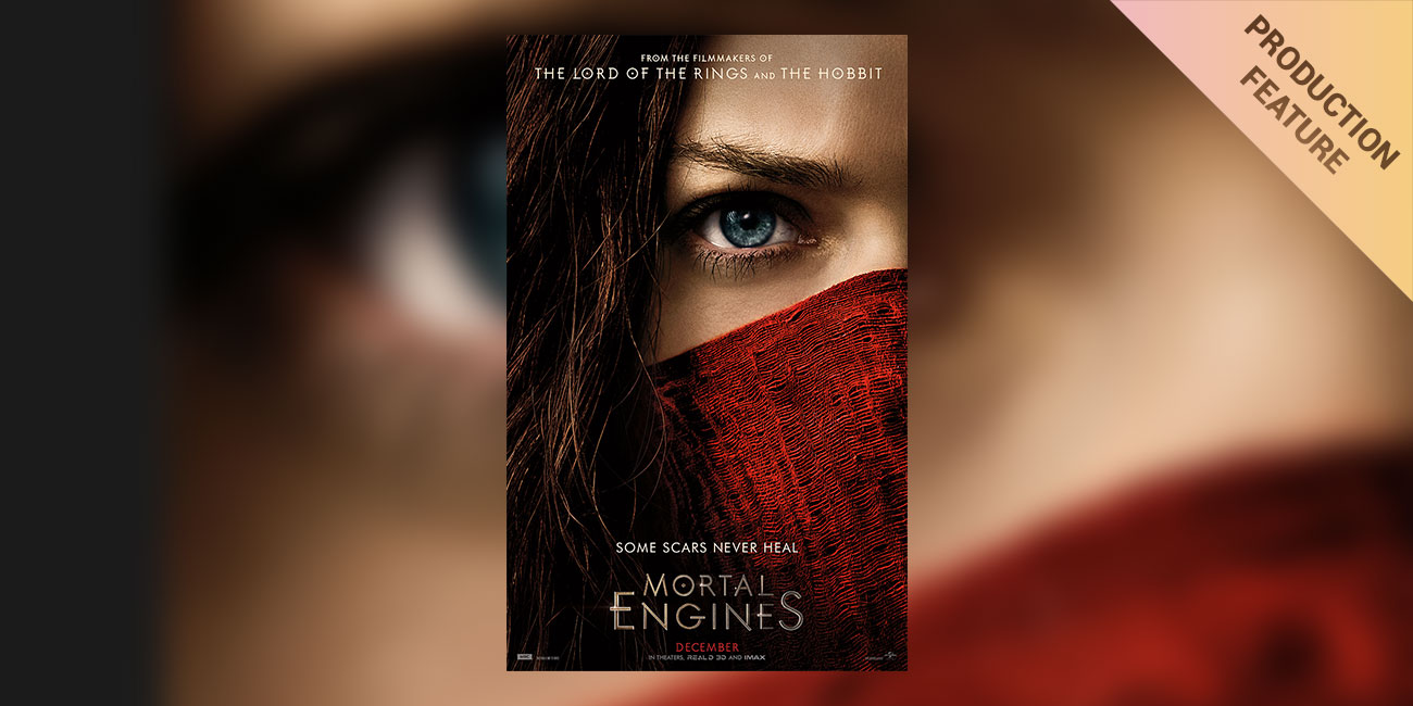 """DIT Jason Naran: The Role of Live Color and Look Information on """"Mortal Engines"""""""