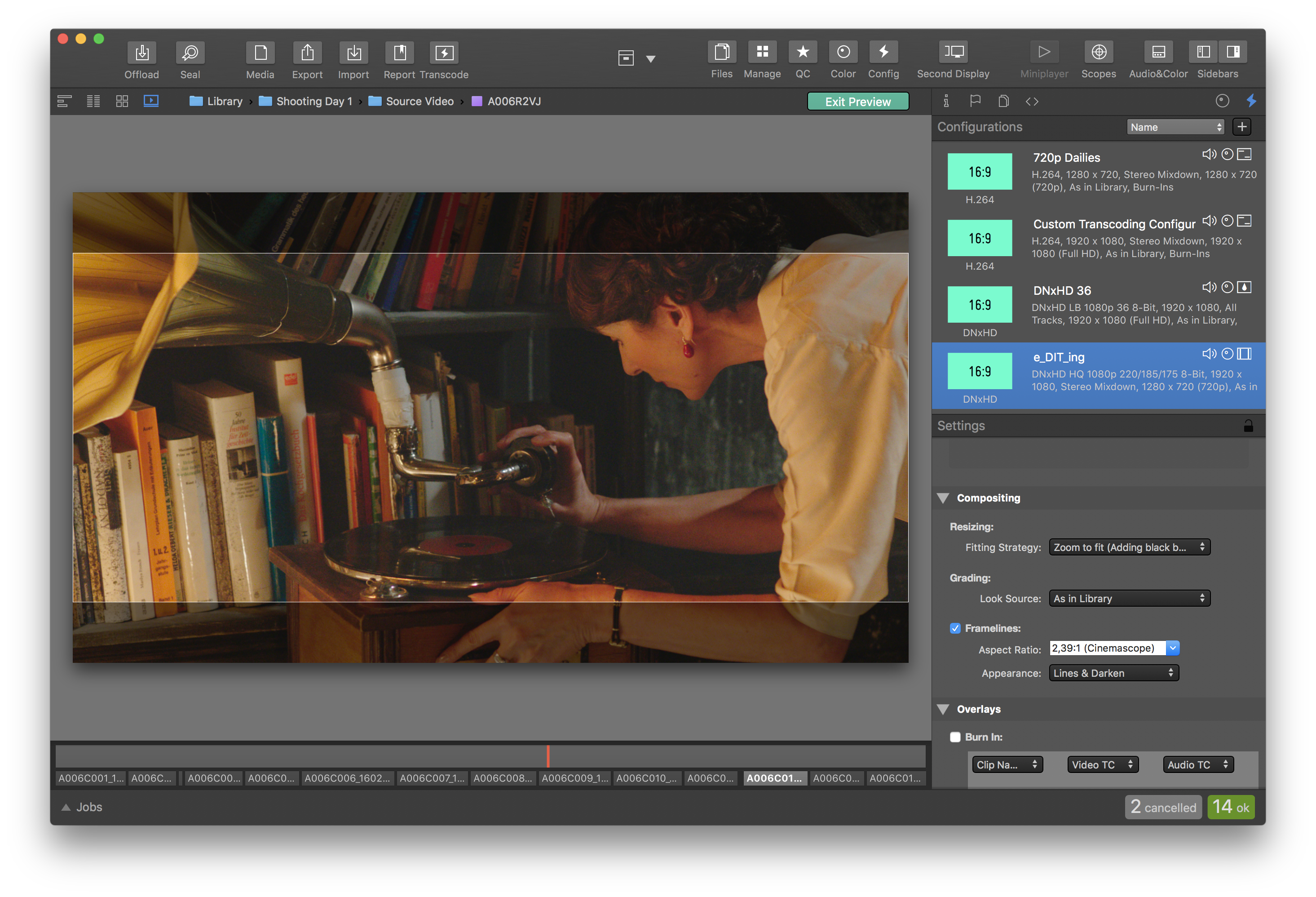 3 Examples of How Silverstack Lab's Transcoding Presets Simplify Dailies Creation