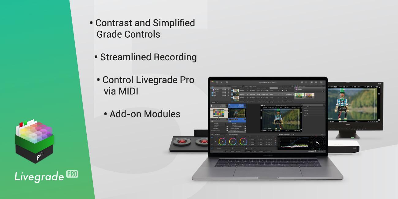 Major Upgrade: Livegrade Pro v5 Released