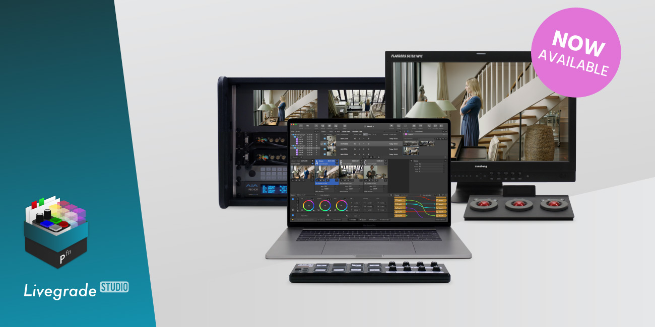 Now Available: The New Livegrade Studio