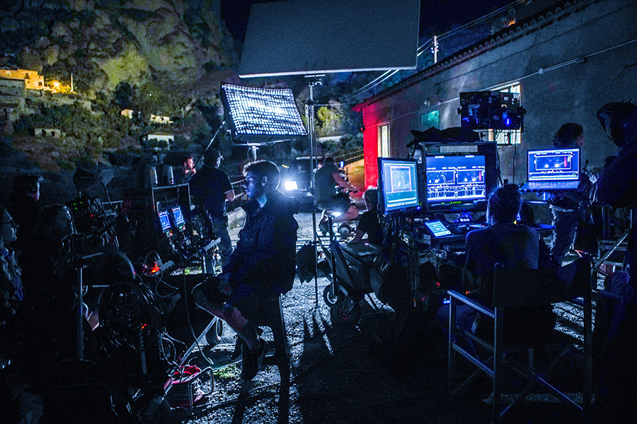 """Production Feature: Live Grading a TV Series About International Drug Trafficking: DITs Andrea Cuomo and Andrea Curiazi on """"ZeroZeroZero"""""""