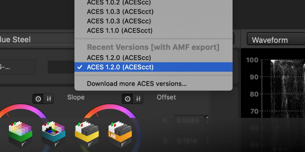 ACES 1.2 and AMF with Silverstack and Livegrade