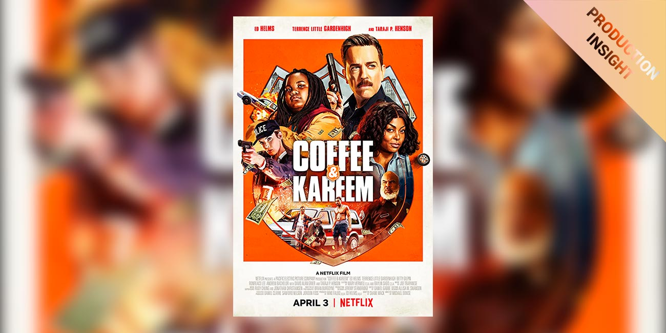 """On set of an action comedy: DIT Leon Rivers-Moore on Netflix's """"Coffee and Kareem"""""""