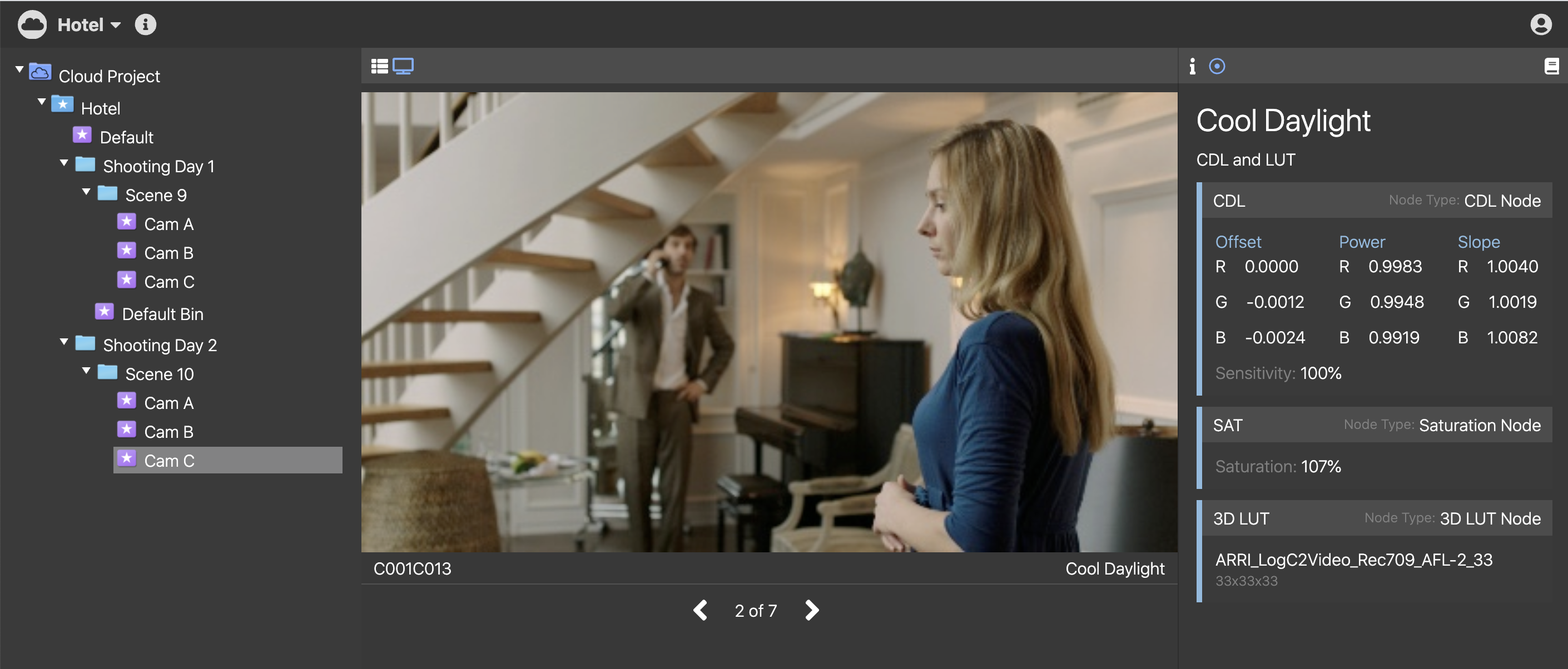 How the new Pomfort ShotHub supports your on-set look workflow
