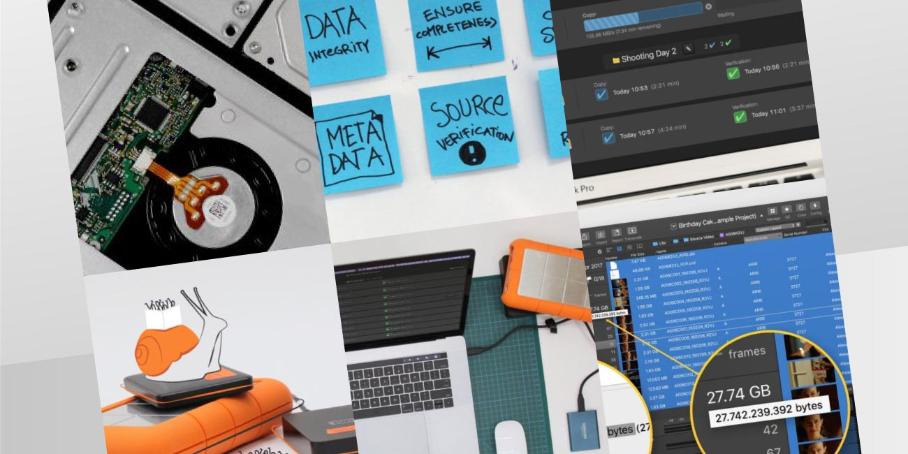 On-Set Data Management: A Collection of Some Basic Principles (Compilation Article)