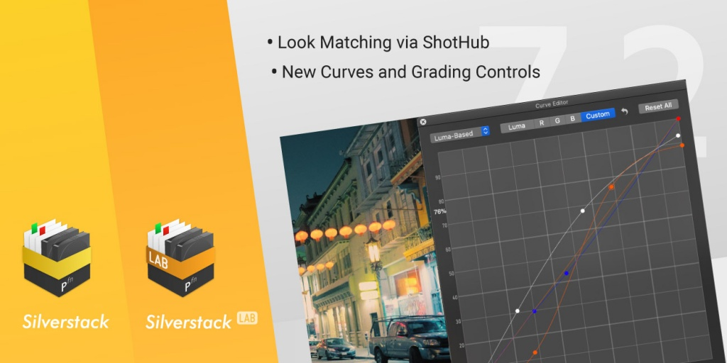 Version 7.2 of Silverstack and Silverstack Lab Released