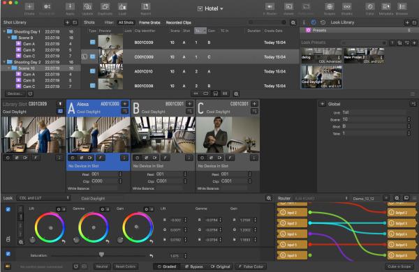Pomfort Livegrade Studio: ein neues mächtiges Tool für Multi-Kamera Produktionen Logo
