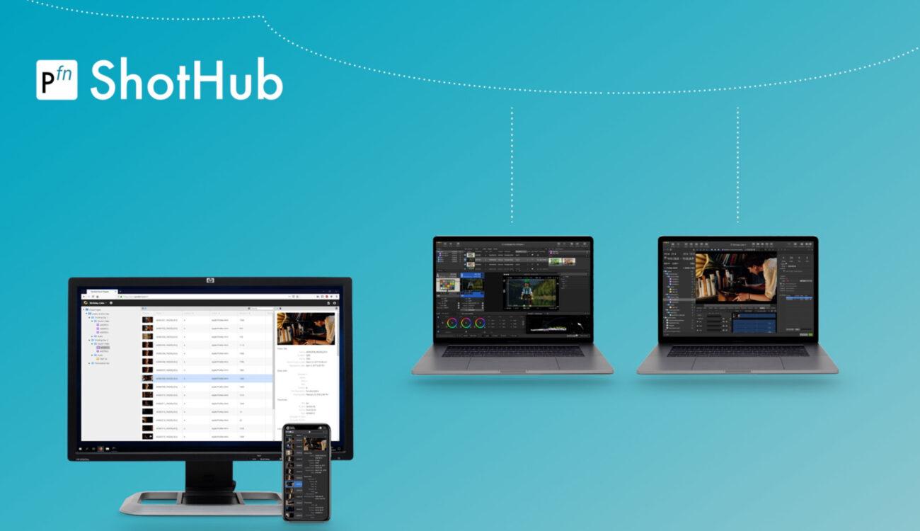 Pomfort ShotHub – Bringing Silverstack & Livegrade into the Cloud Logo