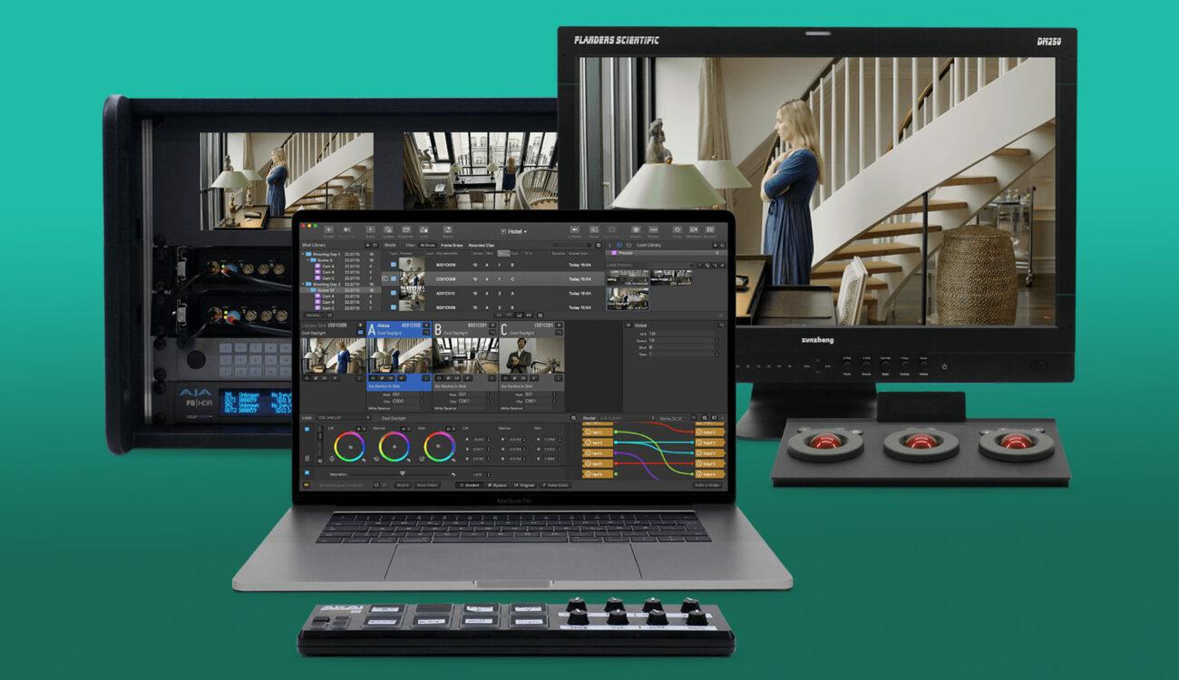 Pomfort Livegrade Studio – Multi Camera Productions Made Easier Logo