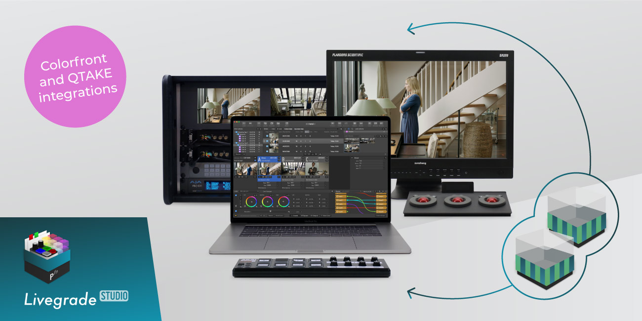 New Exclusive Feature: QTAKE + Colorfront Integration