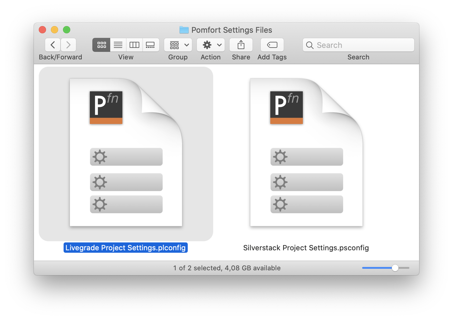Using Pomfort Settings Files to Configure Your Application Setup