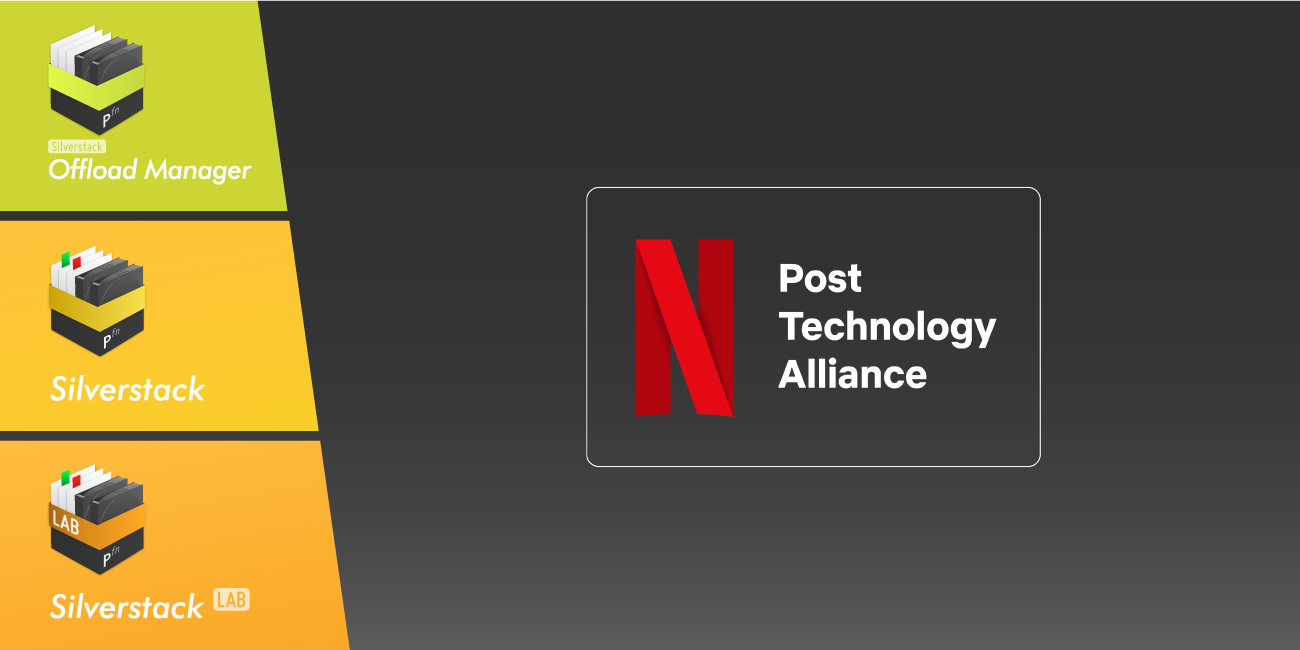 Announcement: Netflix Post Technology Alliance